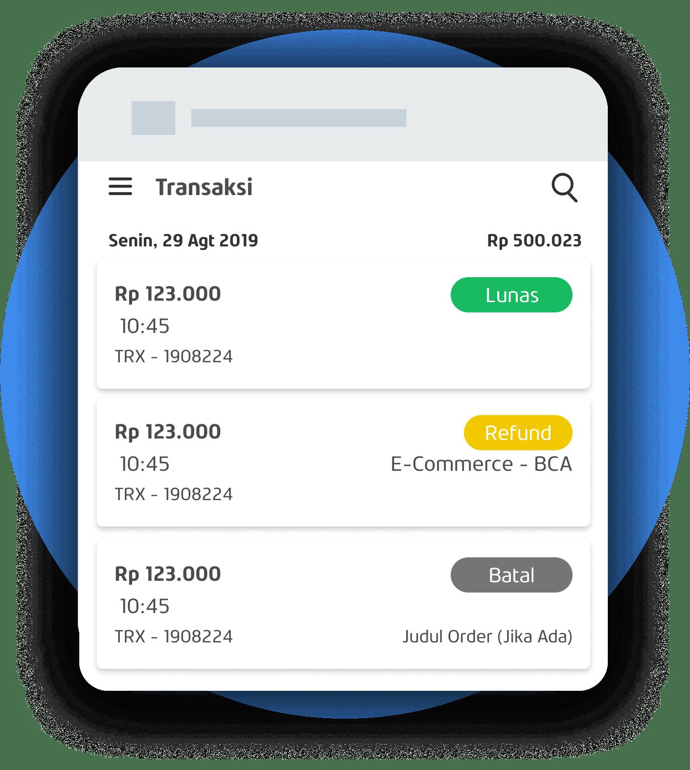 App Catat & Scan